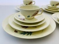 Franciscan Autumn Leaves Dinnerware 20 Piece Service For Four, Beautiful Unused