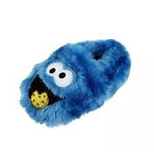 Cookie Monster Infant Toddler Boys Slippers  4, 5, 6,