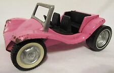 Vintage Nylint Toys Pink Sports Car  Made in IL USA Decent Metal Framed RARE!