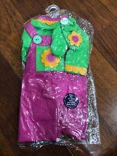 My Li'l Pumpkin Li'l Sunshine Outfit Pink Green 15� Including Bitty Baby New