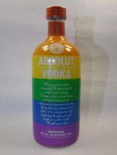 Absolut Vodka Colors Pride  Rainbow 700 ml  40% vol. Limited Edition
