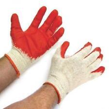 Wholesale Lot:  20 Pair of Latex Coated Gardening Work Gloves Size Medium