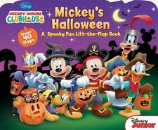 Mickey Mouse Clubhouse Mickeys Halloween Book For Kids 5-6 Lift the Flap Disney