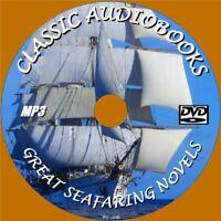 SEA HAWK & 12 CLASSIC SEAFARING NOVELS MP3 AUDIO BOOKS UNABRIDGED ENGLISH PC DVD