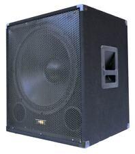 "E-Lektron SUB-P45A AKTIVER PA-SUBWOOFER 18"" / 45cm Bass Lautsprecher Box 1000W"