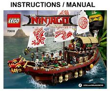 LEGO Ninjago 70618 Movie Destiny's Bounty INSTRUCTIONS ONLY