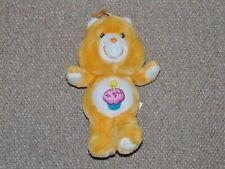 "2002 Carlton Cards Care Bears 14"" Birthday Bear 20th Anniversary Plush Doll"