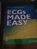 ECG's Made Easy Textbook and Study Guide Barbara Aehlert 4th Edition