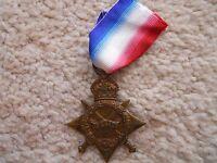 WW1 1914-1915 STAR MEDAL FULL SIZE-...