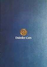 Jaguar Daimler Range UK Brochure 1978 Includes Double Six & Sovereign 4.2