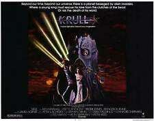 KRULL Movie POSTER 22x28 Half Sheet Ken Marshall Lysette Anthony Freddie Jones