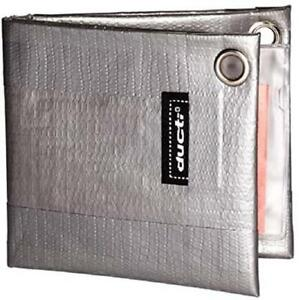 Ducti Classic Silver Duct Tape Bifold Wallet RFID Protected NEW