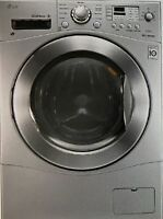 NEW LG 2.3 cu.ft. 24in. Compact 2-in-1 Washer / Dryer Combo WM3477HS TrueBalance