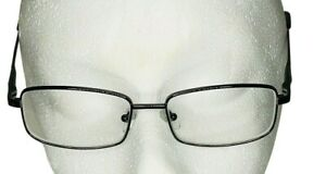 Joe Gunmetal RX eyeglasses frames mens 53 16 140 rectangle black hipster