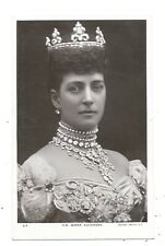ROYALTY - QUEEN ALEXANDRA Rotary 1907 Real Photo Postcard. (3F)