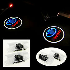 2x Door Ghost Shadow Under Puddle Courtesy Laser Projector Logo Light for TOYOTA