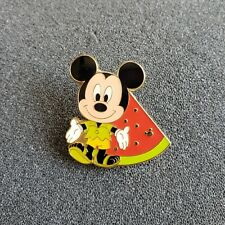 Tokyo DisneySea Tds Game Prize Summer Festival Mickey Mouse Watermelon Fruit Pin