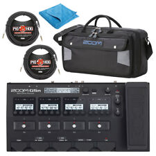 Zoom G5n Multi-Effects Processor with SCG5 Soft Carrying Case, Cloth & Cables