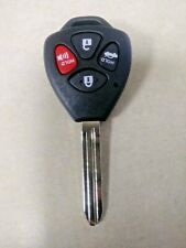4 button toyota key shell