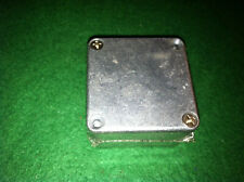Cast Aluminum Box Roughly 2X2X 1&1/4 inches Hammond 1590 New Old Stock