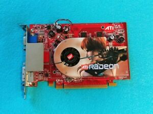 ATI Radeon X1300 PCIE 256M Video Graphics Card PCI Express 109-A67631-12 DVI