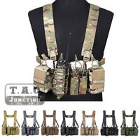 Emerson D3CR Disruptive Environments Tactical Chest Rig Hunting Vest W/ Pouches