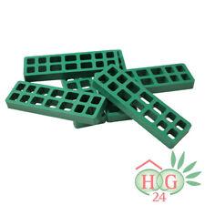 100 Inovatec Gitterklötze 160x50x15mm grün Lastabtragung Montage Ausgleich NEU