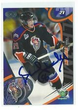 Dave Starenky Signed 2004/05 Gatineau Olympiques Team Issued Card