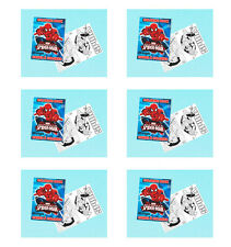SPIDERMAN PARTY SUPPLIES FAVOURS 6 COLOURING BOOKS ( 20 PAGES EACH )