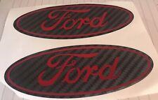 Ford FIESTA Mk6 Mk7 Mk7.5 St Line Gel Domed Overlays Badges Any Colours