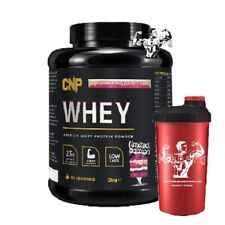 CNP Pro Whey 2kg (66 Servings) High Quality Pure Whey Protein & Shaker