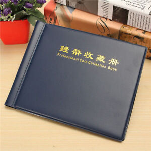 Coin Album 240 Coins Mix Book Folder Big Capacity Pages Collection Holder 10Page