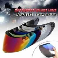 Visière casque pour AGV K5 K3 SV moto intégral lunettes bouclier d'objectif moto