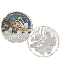 WR 2018 Australian Sydney Opera House Philharmonic Silver Coin Souvenirs Gifts
