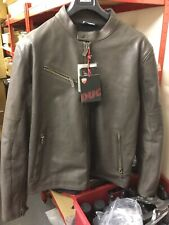 Ducati Men's Downtown Brown Leather Jacket NEW Size EU 58
