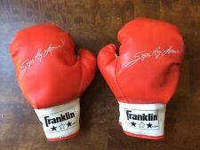 Vintage Franklin Youth Sugar Ray Leonard Signature Boxing Gloves Vintage