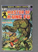 Master of Kung Fu #19 (Aug 1974, Marvel)  BRONZE AGE!!! (FN) NO VALUE STAMP..