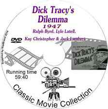 Dick Tracy's Dilemma - starring Ralph Byrd, Lyle Latell DVD film