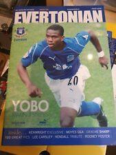 More details for everton the evertonian magazine issue 100