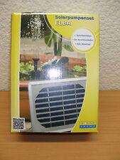 Solar Pumpe Teichpumpe Elba Springbrunnen Garten Brunnen Teich Wasser NEU OVP