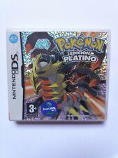 juego nintendo DS pokemon EDICION PLATINO  completo esp