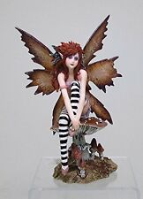 Naughty Forest Faery Fairy Mushroom Statue Figurine Amy Brown Art Collection