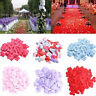 100Pcs Satin Padded Fabric Love Heart Table Decoration Wedding Throwing