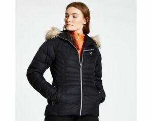 Dare2b Womens Glamorize Black Ski Jacket Ladies NEW SIZES 12 - 16 UK