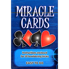 Miracle Cards (stripper deck) by Vincenzo Di Fatta from Murphy's Magic