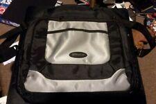 Targus Black and Silver Portable DVD Mini Laptop bag