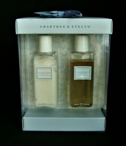 Crabtree & Evelyn NANTUCKET BRIAR Shower Gel & Body Lotion 6.8oz NEW BOXED SET