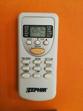 telecomando climatizzatore condizionatore originale usato ZEPHIR ZH JT 01