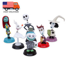 Nightmare Before Christmas 6 PCS Collectible Figures Cake Topper Kids Toys Jack