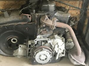 Fiat 500F engine and gearbox